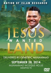 jesus wanted land