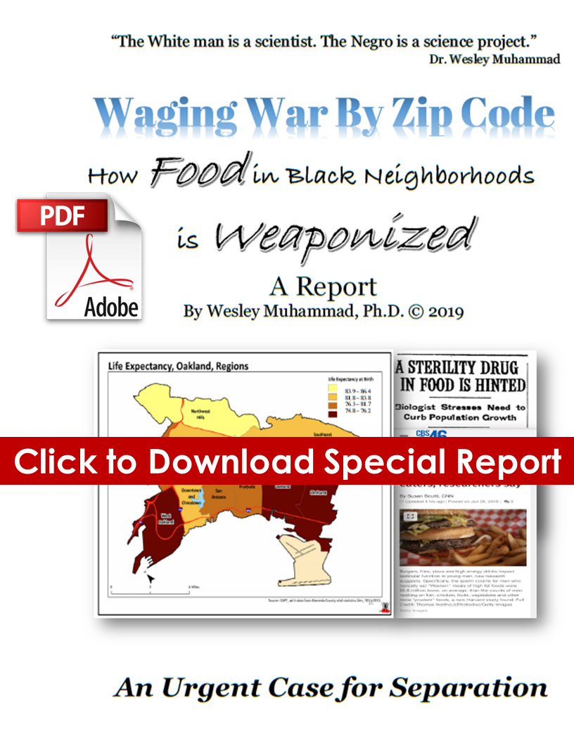 Waging War by Zip Code